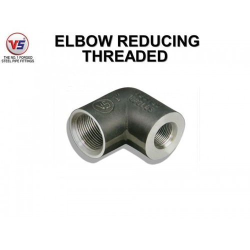 Vs Forged Steel Reducing Elbow Equal Od Black