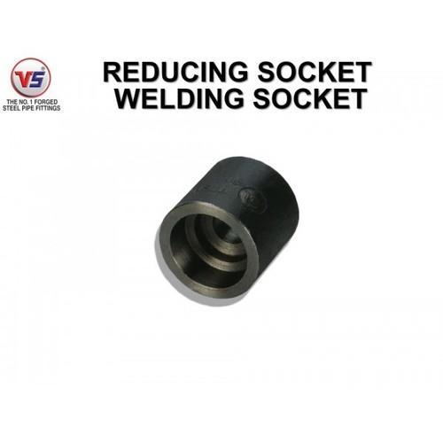 Vs Forged Steel Socket Sw 3000 Psi Black