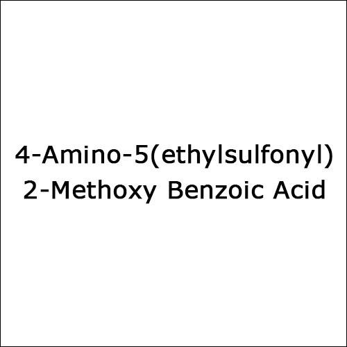 4-Amino-5(ethylsulfonyl)2-Methoxy Benzoic Acid