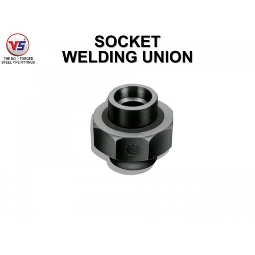 Vs Forged Steel Union Sw 3000 Psi Black