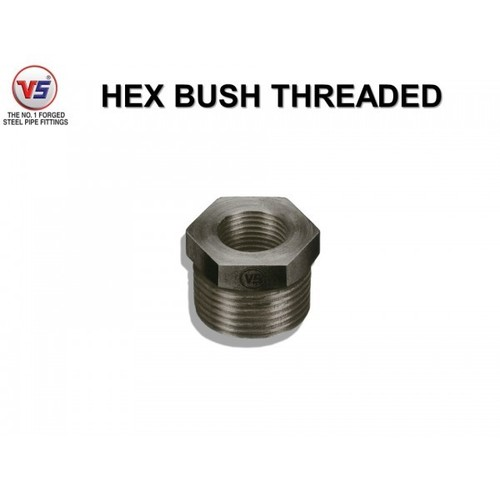 Vs Steel Reducing Ms Bush 1000 Psi Black
