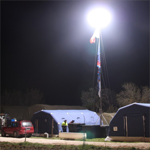 Portable Inflatable Emergency Lighting Tower
