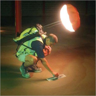Inflatable Backpack LED Lighting System