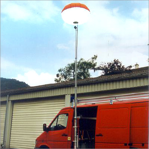 Inflatable Mobile Balloon Light Tower