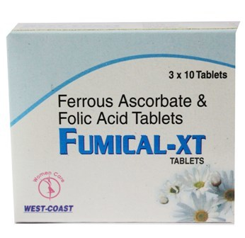 Ferrous Ascorbate & Folic Acid Tablets