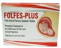 Folic Acid & Rerrous Sulphate Tablets