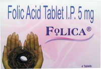 Folic Acid Tablet Ip 5Mg