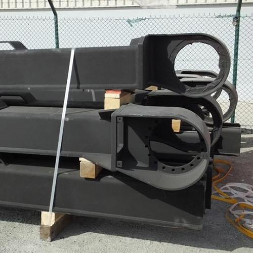 Track Frame for Crawlers Systems