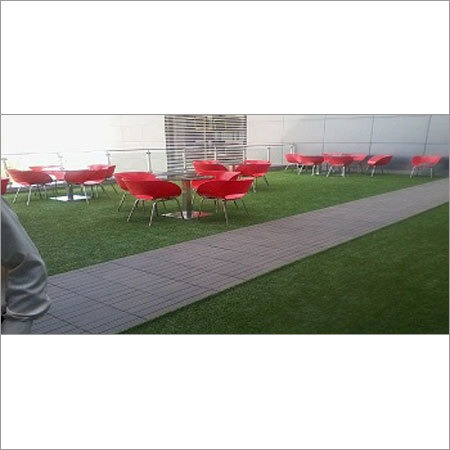 Artificial Grass Mat for Restaurant