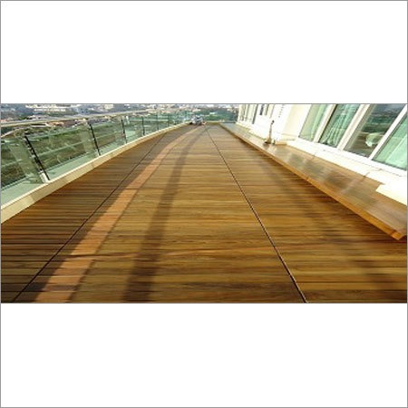 Balcony Wood Decking