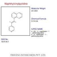 Naphthylvinylpyridine