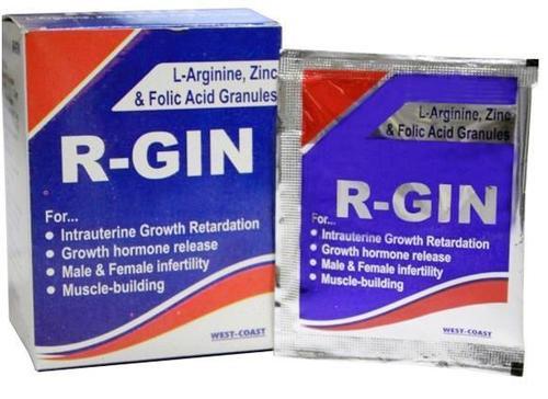 L-Arginine ,Zinc& Folic ACid Granules