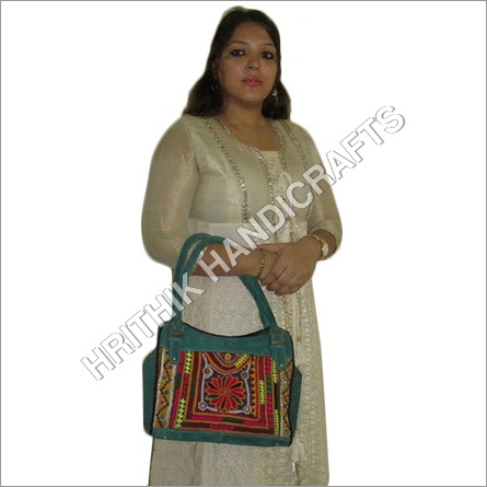 Embroidered Banjara Leather Bag