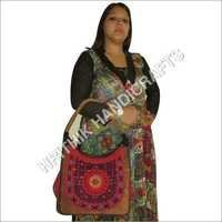 Multi Color Leather Banjara Bags