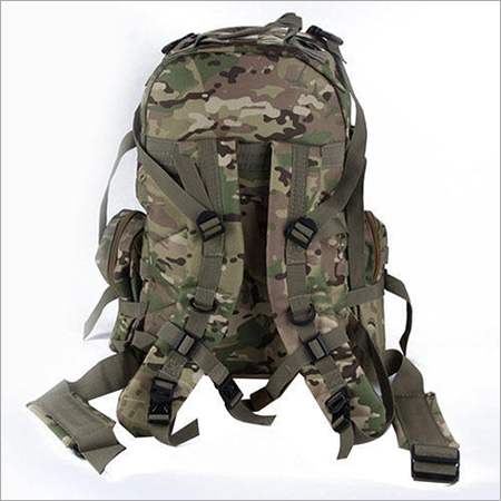 Khaki Military Rucksack Bag