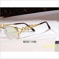 Designer Gold Spectacle Frame