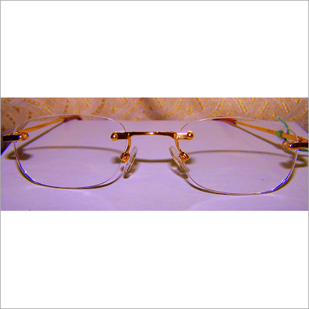 Rimless Gold Frame
