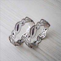 925 Silver CNC Bangle