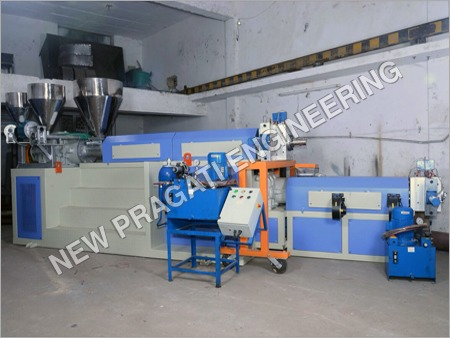 Two Stage Extruder Recycling Machine