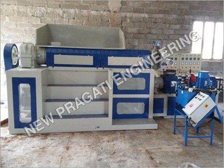 Two Stage Mother Baby Type Extruder Machine