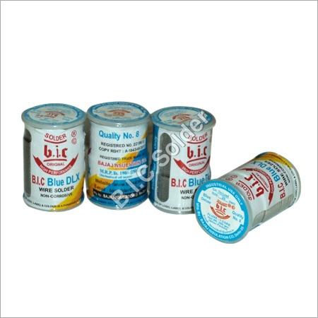 Blue DLX Rosin Core Wire Solder