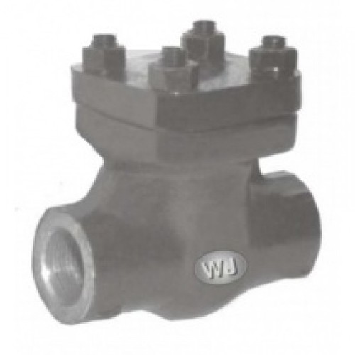 WJ FORGED CARBON STEEL (ASTMA 105) HORIZONTAL LIFT CHECK VALVE