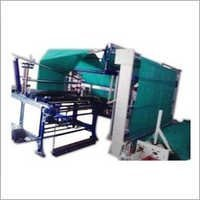 Four Folding Fabric Plating Machine