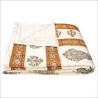 Hand Block Double Bed Quilt