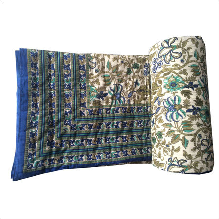 Printed Double Bed Quilt