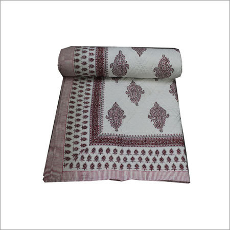 Printed Single Bed Qult