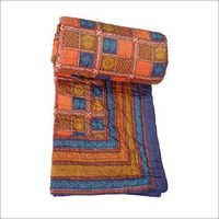 Orange Colour Single Bed Quilt
