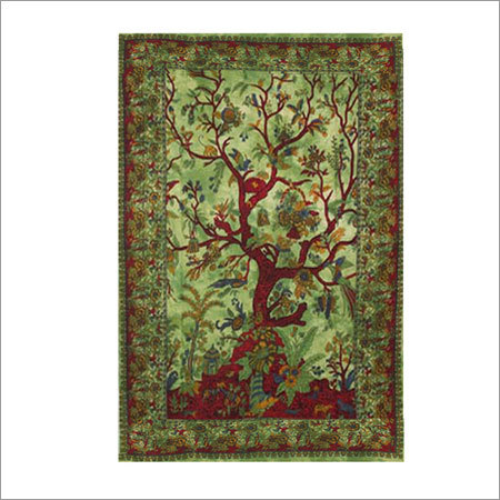 Tree of Life Hippie Cotton Tapestry
