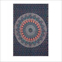 Indian Mandala Design Tapestry