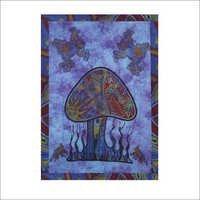 Mushroom Design Tapestry