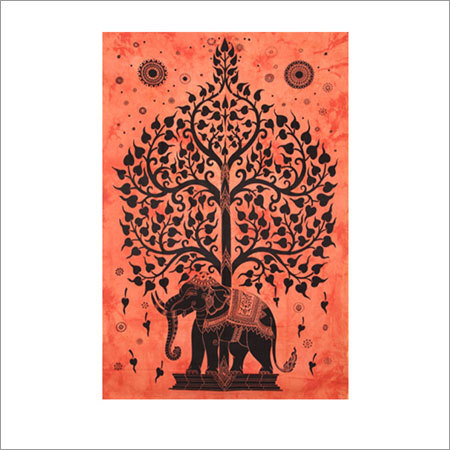 Elephant desginer  Tapestry