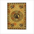 Buddha Spiritual Yellow Tapestry