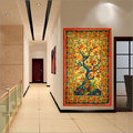 Tree of Life Gold cotton Tapestry