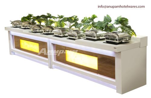 buffet counter Corian With Rose Gold, Onex & Green