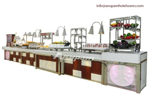 Buffet Counter - Leatherite Buffet