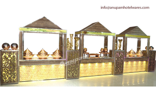 Buffet Counter - Punjabi Haveli Theme