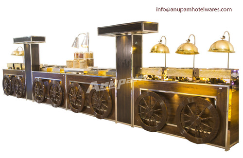 Buffet Counter - Punjabi Rasoi Theme