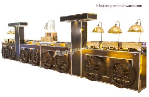Buffet Counter - Punjabi Rasoi Theme