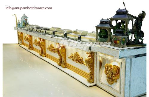 Buffet Counter - Roman Theme