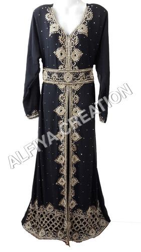 Moroccan fancy wedding kaftan dress