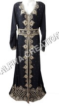 Moroccan fancy wedding kaftan dress