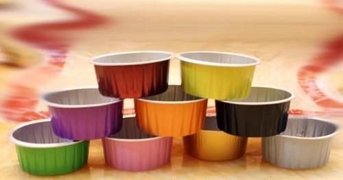 150ml Aluminium Muffin Cups