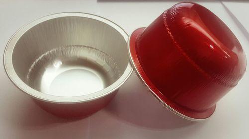 130ml Round Aluminium Baking Cups