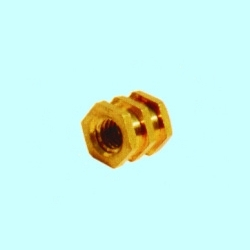 Brass Roto Moulding Inserts