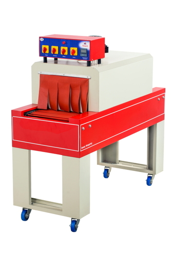 Shrink wrap tunnel machine