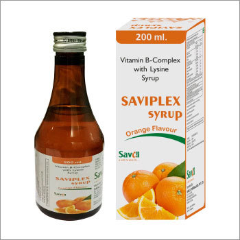 Vitamin B-Complex with Lysine Syrup